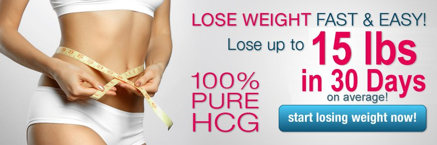 Lose up to 30 lbs in 30 days with 100% Pure HCG!